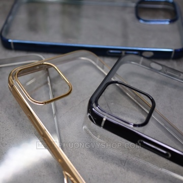 Ốp dẻo Baseus Shining iPhone 12 ProMax